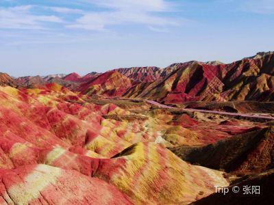 張掖丹霞國家地質公園