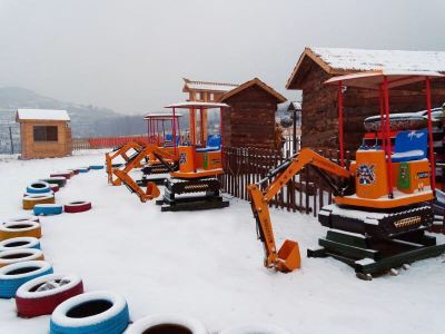 夾穀山滑雪場
