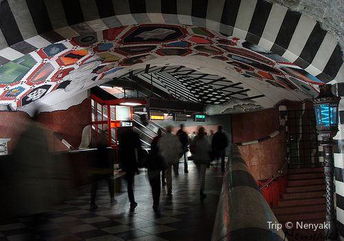 Kungsträdgården Metro Station1