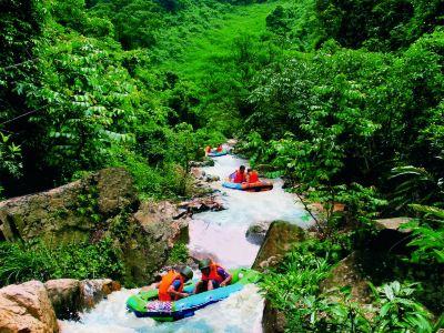 Jiudao Valley Drifting Scenic Resort