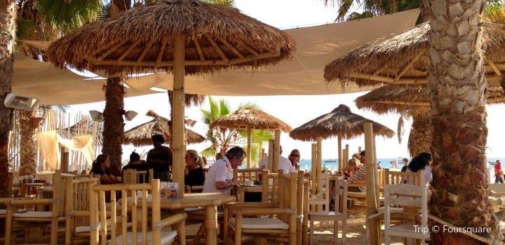 Palm beach restaurant Sal Cabo Verde Santa Maria2