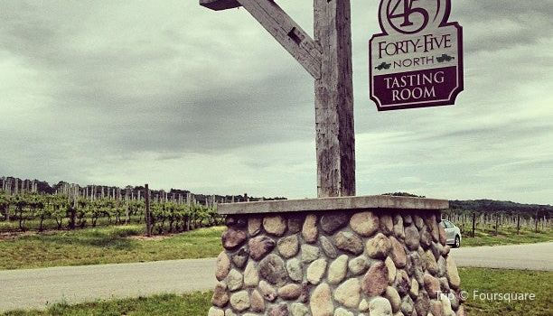 Forty-Five North Vineyard & Winery