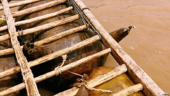 黃河羊皮筏子漂流中心
