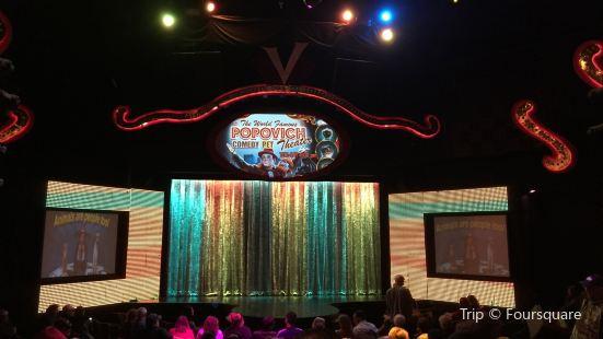 《Popvich Comedy Pet Theater》表演