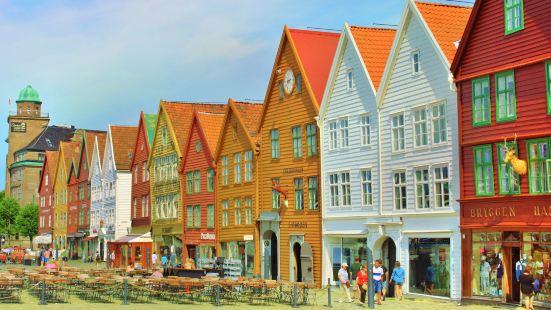 Bryggen Herringbone House