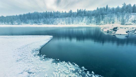 얼지 않는 강