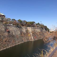 오사카 성 여행 사진