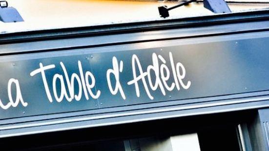La Table d'Adele