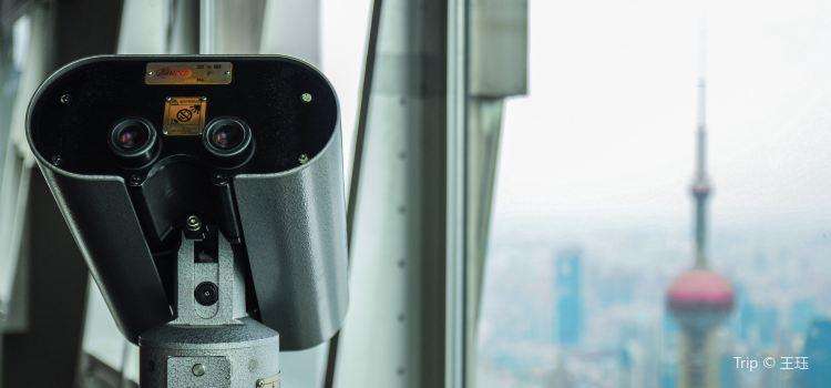 진마오 타워 88층 전망대