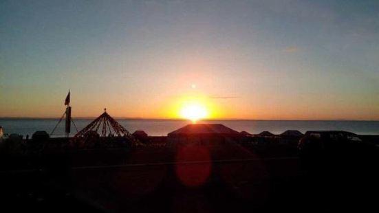 尕日拉村看日出
