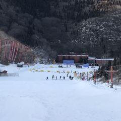 지난(제남) 진상산(금상산) 스키장 여행 사진