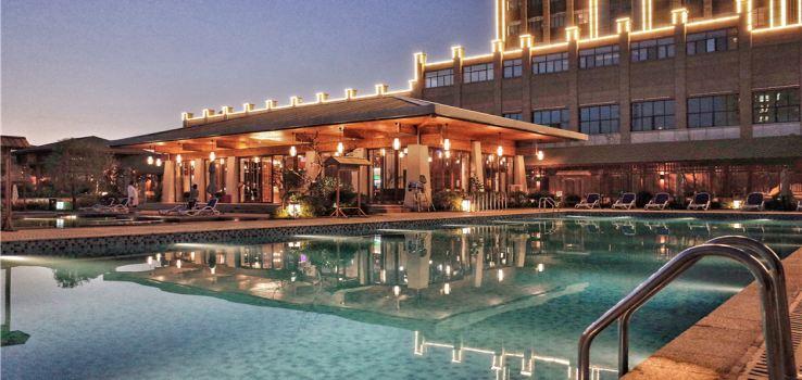 太白山艾蘭溫泉國際酒店溫泉2