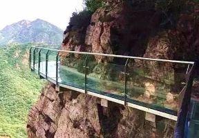定了!天津首條玻璃棧道已開放,3000多米全國最長!去的人已經哭著回來了...