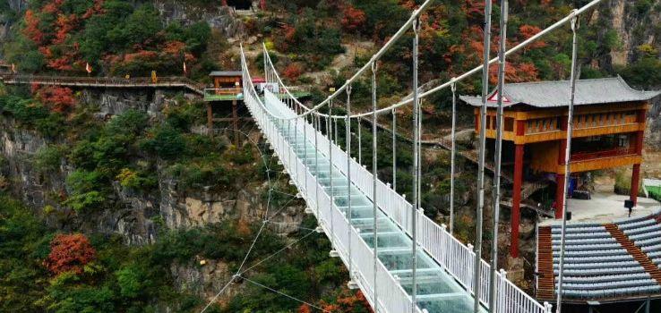 Qinling Dongtian Fudi Scenic Area