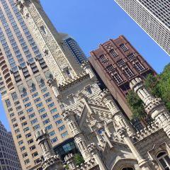 시카고 워터 타워 여행 사진