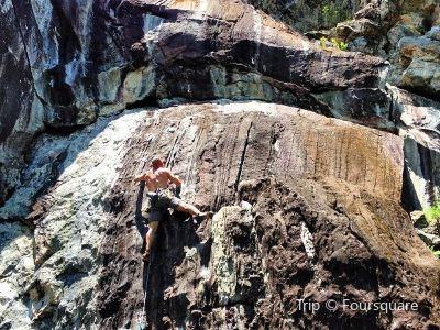 Rumney Rock Climbing