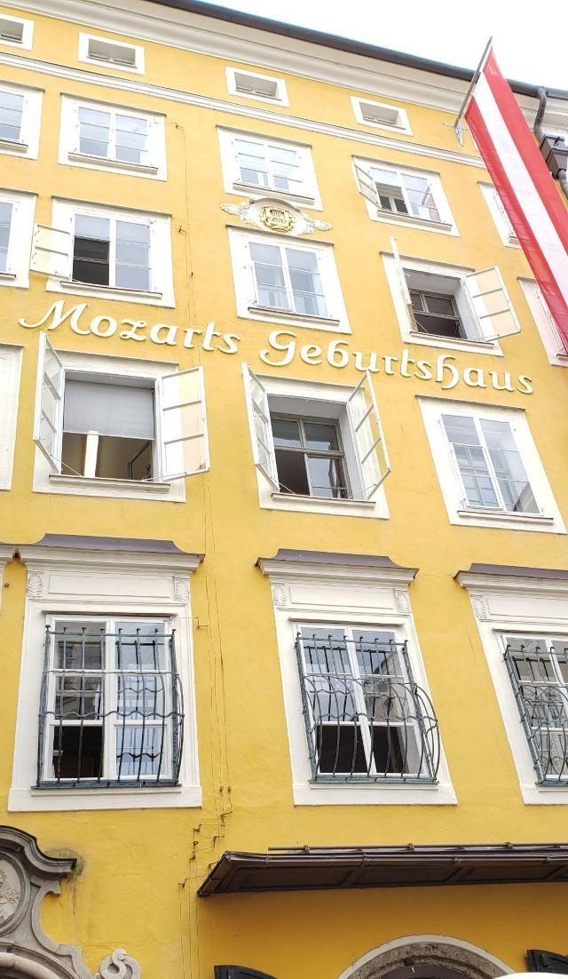 莫扎特出生地
