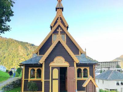 Balestrand St Olavs Church