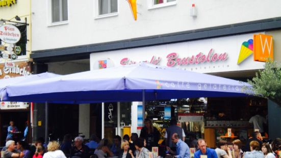 Eiscafe Brustolon Am Plan