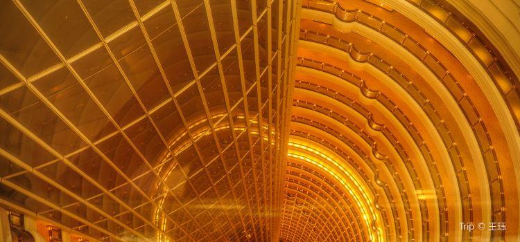 진마오 타워 88층 전망대2