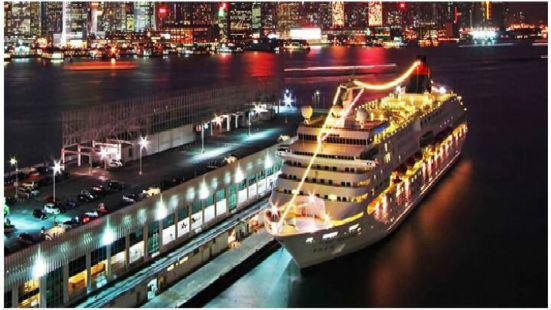 Hong Kong dragon pearl ship