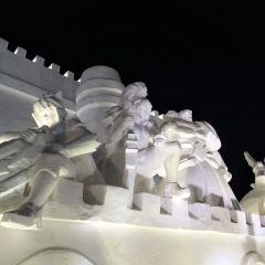 하얼빈 빙쉐다스제(합이빈 빙설대세계) 여행 사진