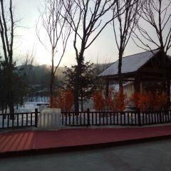빈시 실내 온천 풍경명승구 여행 사진