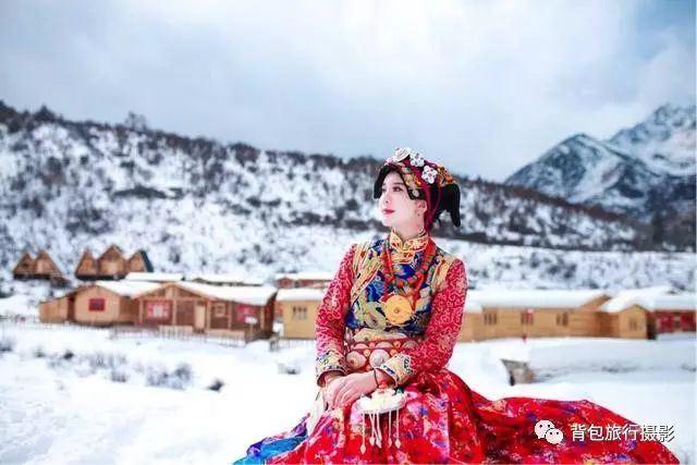 """厲害了,80後藏族美女把東北雪鄉""""搬""""到了四川!"""