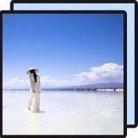 """別再去茶卡鹽湖了!這個絕美的""""天空之境"""",人少景美還免費!"""