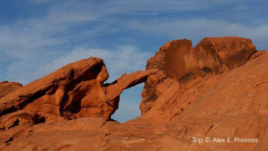 岩石徒步旅行