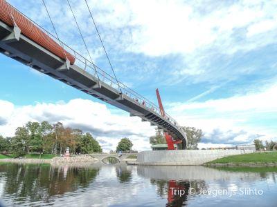 Pedestrian Bridge Mitava