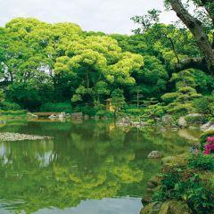 오사카성 니시노마루 정원 여행 사진
