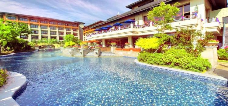 The Ronghe Xinyuan Hot Springs at Arcadia Seaside Holiday Hotel1