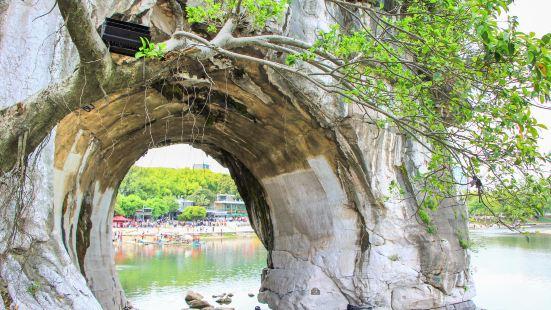 Zhaoyang Pavilion in Shuiyue Cave