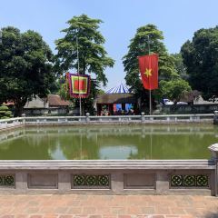 하노이 문묘 여행 사진