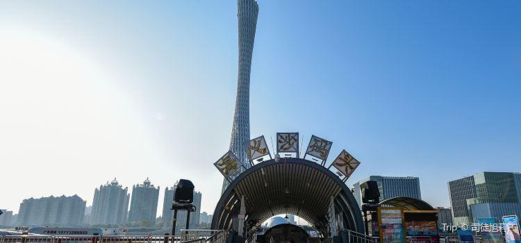 Zhujiang Night Tour Haixinsha West Wharf1