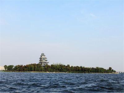 金雞湖遊船