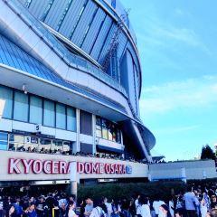 오사카 돔 여행 사진