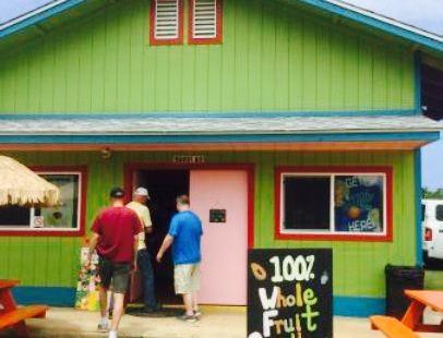 Rainbow House Shave Ice