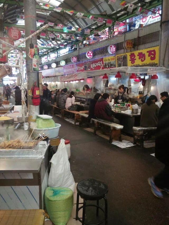 Guangzang Market Food Street
