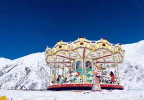 川內新晉網紅滑雪場—鷓鴣山自然公園