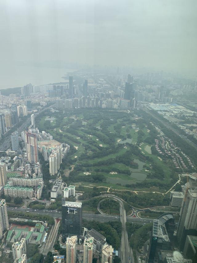 Shenzhen Ping An Financial Center Yunji Sightseeing