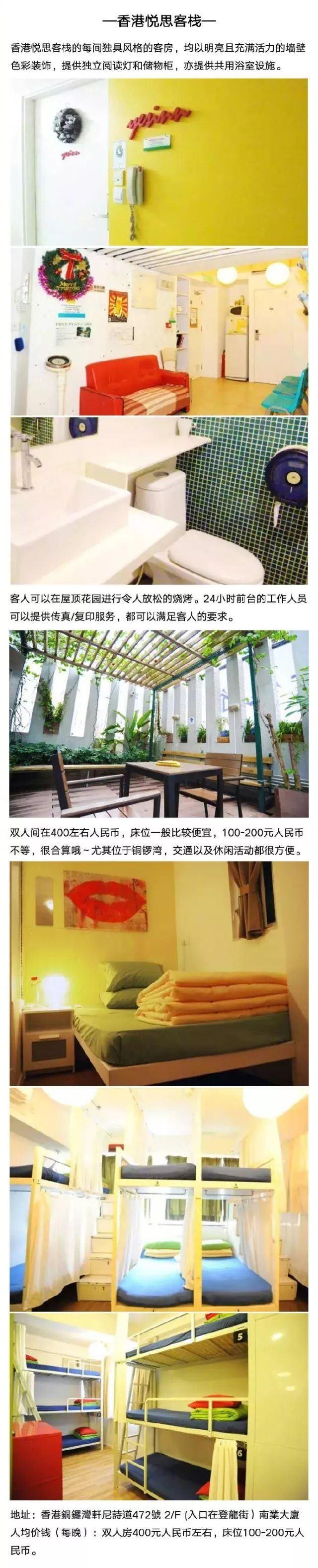 如何花一百多塊在香港住海景房?
