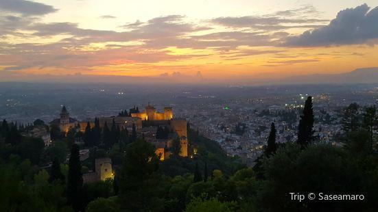Silla del Moro ( Exteriores Alhambra de Granada )