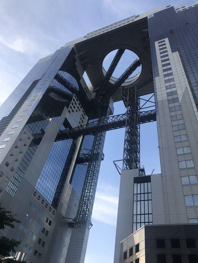 梅田藍天大廈