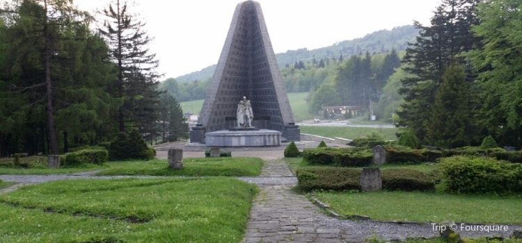 The Memorial and the Cemetery of the Czechoslovak Army in Dukla