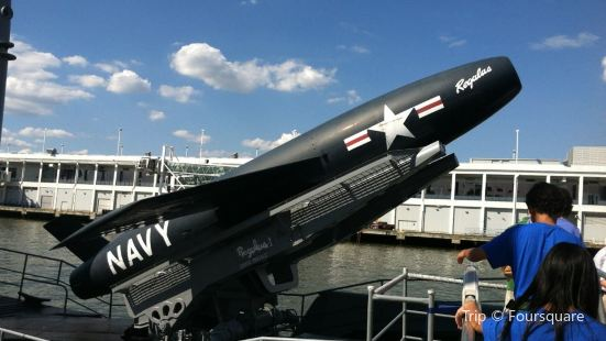 Submarine Growler at the Intrepid Museum