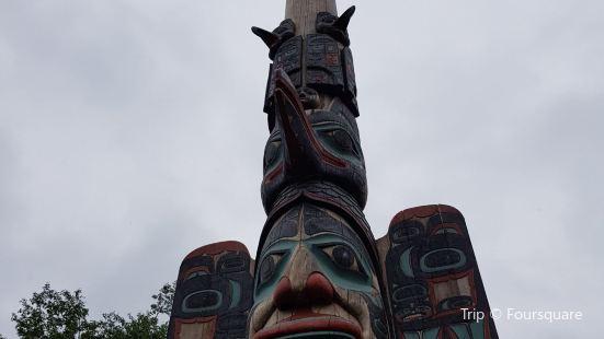 Chief Johnson Totem Pole