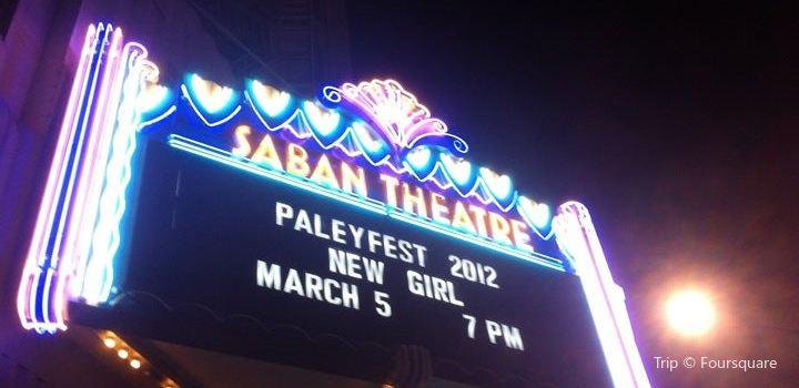 Saban Theatre