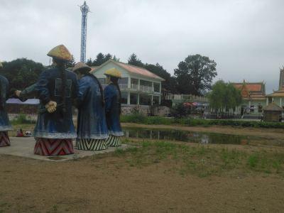 五虎島陸地遊樂園